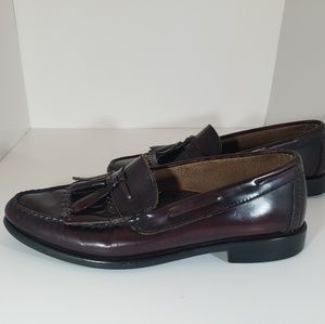 Mens Bass Cordovan Leather Dress Shoes 8.5 D
